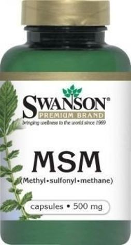 SWANSON MSM 500mg x 250 kapsułek