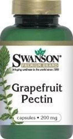 SWANSON Pektyny grapefruita 200mg x 90 kapsułek