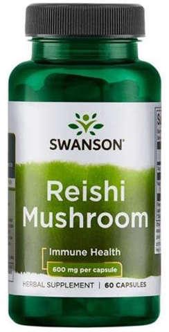 SWANSON Reishi 600mg x 60 kapsułek