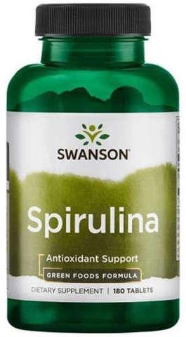 SWANSON Spirulina 500mg x 180 tabletek