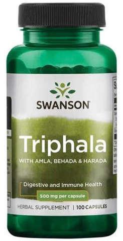 SWANSON Triphala 500mg x 100 kapsułek