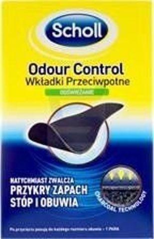 Scholl Odour Control Wkładki przeciwpotne do butów x 2 sztuki