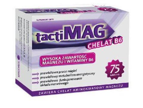 TACTIMAG CHELAT B6 x 75 tabletek
