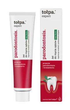 TOŁPA Paradontosis Expert Żel do mycia zębów bez fluoru 75ml