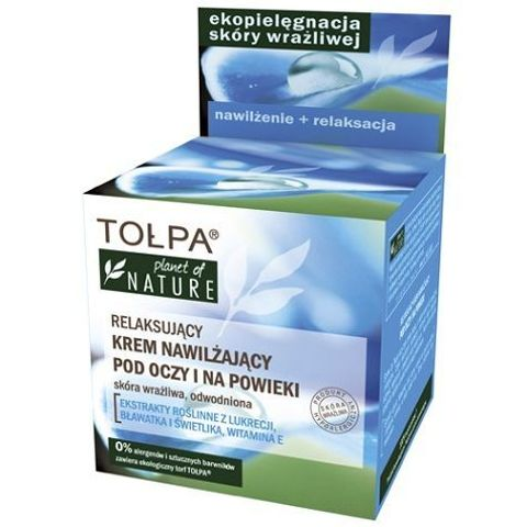 TOŁPA Planet of Nature Relaksujący krem nawilżający 50ml