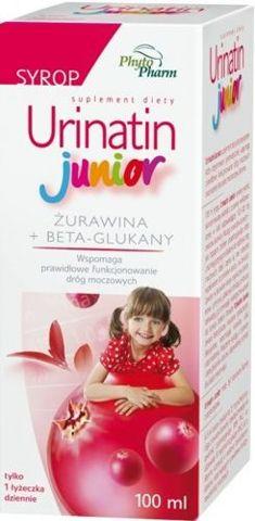 URINATIN JUNIOR syrop 100ml