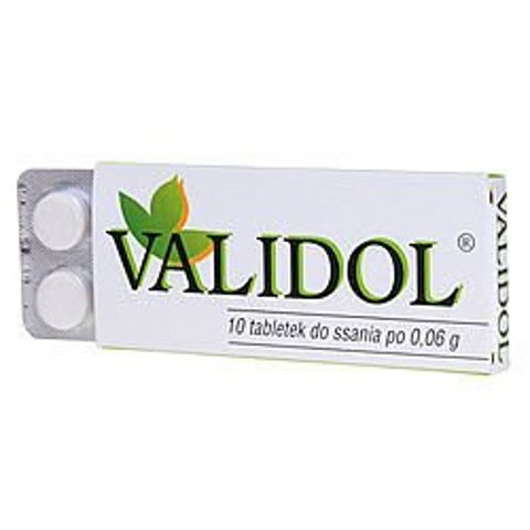 VALIDOL 0,06 x 10 tabletek