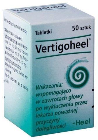 VERTIGOHEEL x 50 tabletek