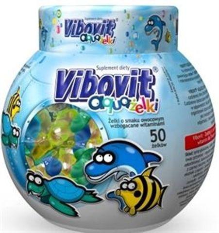 VIBOVIT Aquażelki x 50 żelek