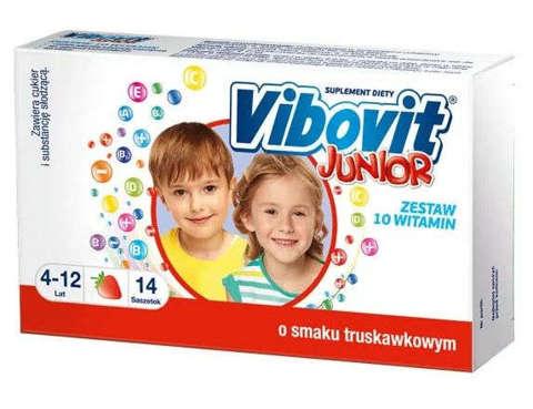 VIBOVIT Junior x 15 saszetek - truskawkowy