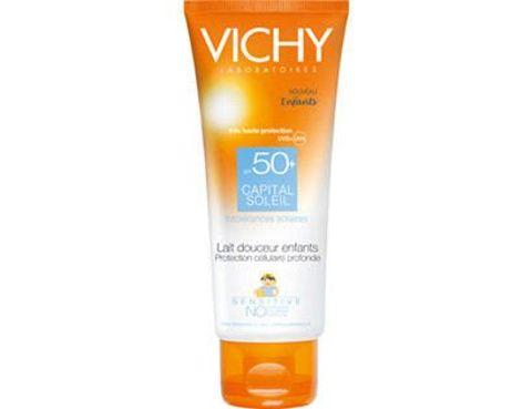 VICHY CAPITAL SOLEIL Delikatne Mleczko dla dzieci SPF50+ 300ml