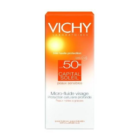 VICHY Capital Soleil IP50+ emulsja matująca 40ml