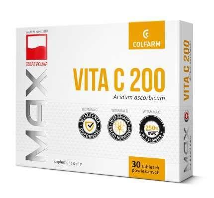 VITAMINUM C 200mg x 30 tabletek