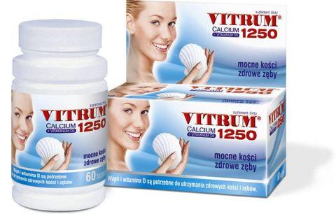 VITRUM Calcium 1250 + Vit. D3 x 60 tabletek