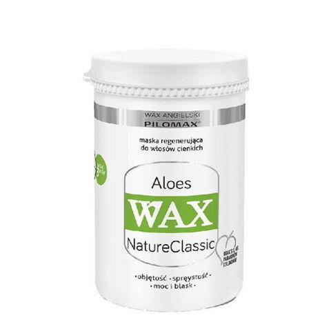 WAX Pilomax NaturClassic Aloes maska regenerująca do włosów cienkich 480ml