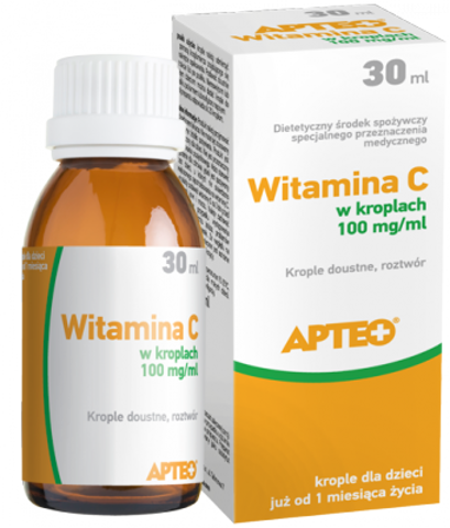 WITAMINA C Apteo 100mg/ml krople 30ml