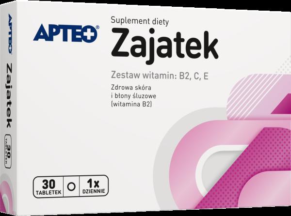 ZAJATEK Apteo B2+C+E x 30 tabletek