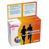 APTEO Witaminy dla aktywnych x 60 tabletek