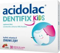 Acidolac Dentifix Kids x 30 tabletek do ssania