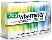 Acti vita-miner dieta x 30 tabletek