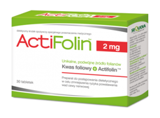 ActiFolin 2mg x 30 tabletek
