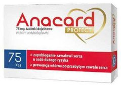 Anacard Protect 75mg x 60 tabletek