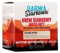 BARWA Siarkowa Moc krem matujący 50ml
