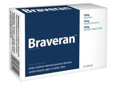 BRAVERAN x 8 tabletek