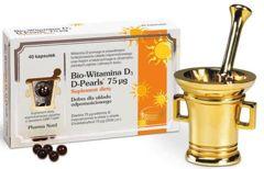 Bio-Witamina D3 D-Pearls 75 µg x 40 kapsułek