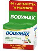Bodymax 50+ tabletki x 60+20 sztuk gratis!
