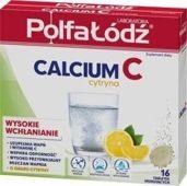 CALCIUM + Vit.C  x 16 tabl. musujących (cytrynowe)