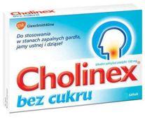 Cholinex bez cukru x 24 pastylki do ssania