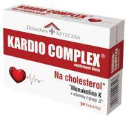 DOMOWA APTECZKA KARDIO COMPLEX Na Cholesterol x 30 tabletek