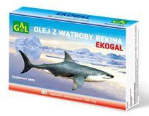 Ekogal olej z wątroby rekina grenlandzkiego x 60 kapsułek