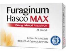 Furaginum Hasco Max 0,1g x 30 tabletek