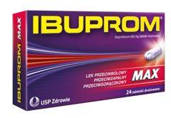 IBUPROM Max x 24 tabletki