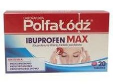 Ibuprofen Max 400mg x 20 tabletek