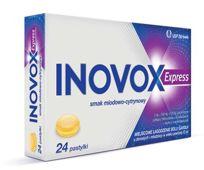 Inovox Express smak miodowo-cytrynowy x 24 pastylki do ssania