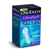 LANCET ONE TOUCH Ultra Soft x 100 sztuk