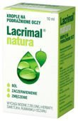 Lacrimal Natura krople do oczu 10ml