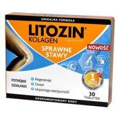 Litozin Kolagen x 30 tabletek - data ważności 31-10-2019