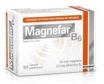 MAGNEFAR B6 x 50 tabletek