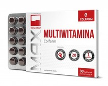 MULTIWITAMINA Colfarm x 30 tabletek