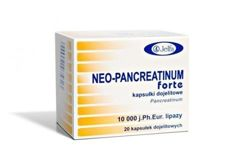 NEO-PANCREATINUM Forte x 20 kapsułek