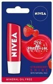 NIVEA STRAWBERRY Pomadka 4,8g