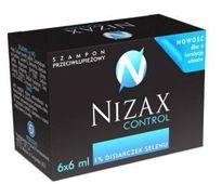 NIZAX CONTROL Szampon 6ml x 6 saszetek