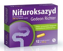 Nifuroksazyd Richter 200mg x 12 tabletek