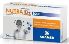 Nutra D3 2000 x 30 kapsułek