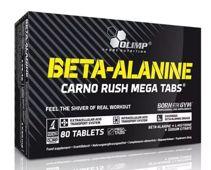 OLIMP Beta-Alanine Carno Rush Mega Tabs x 80 tabletek