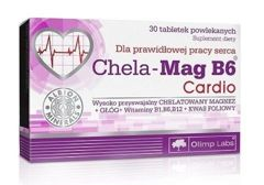 OLIMP Chela-Mag B6 Cardio x 30 tabletek - data ważności 07-08-2018r.